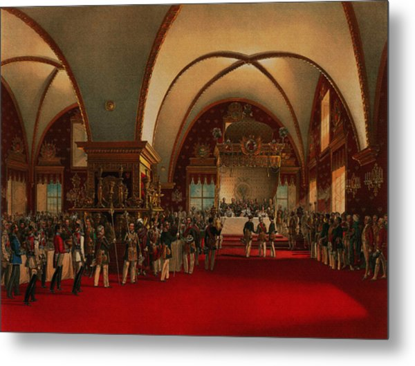 Coronation Banquet Metal Print