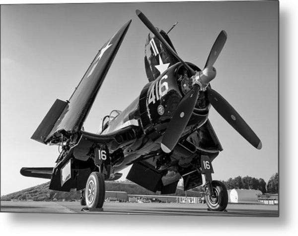 Corsair On The Ramp Metal Print