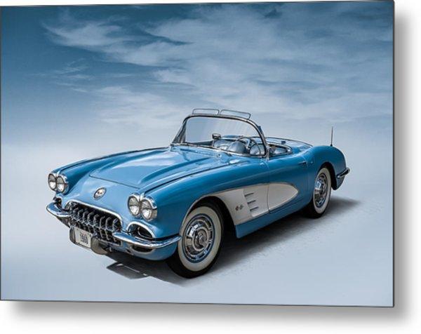 Corvette Blues Metal Print