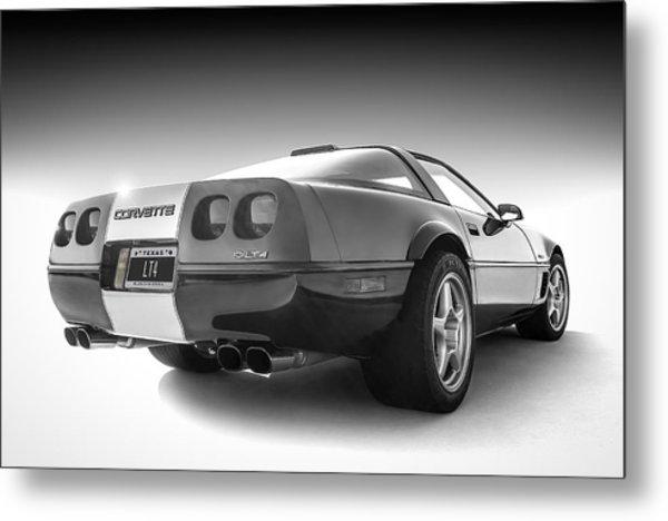 Corvette C4 Metal Print