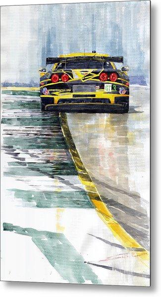 Corvette C6 Metal Print