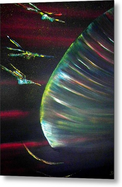 Cosmic Beauty Metal Print