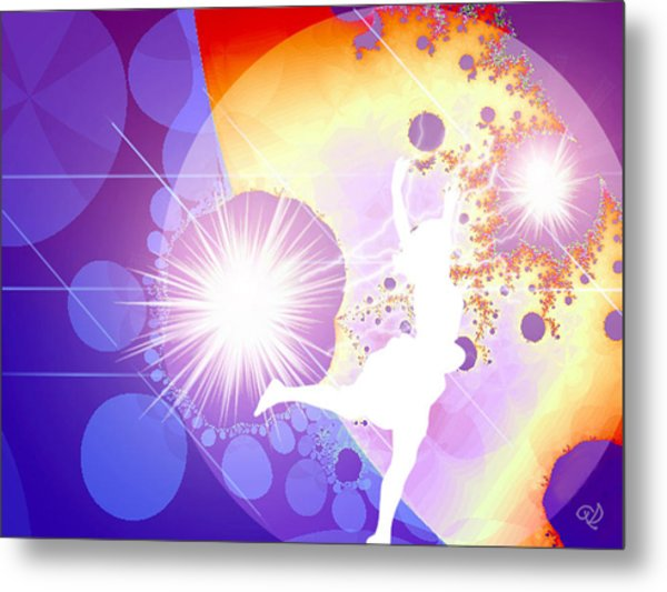 Cosmic Dance Metal Print