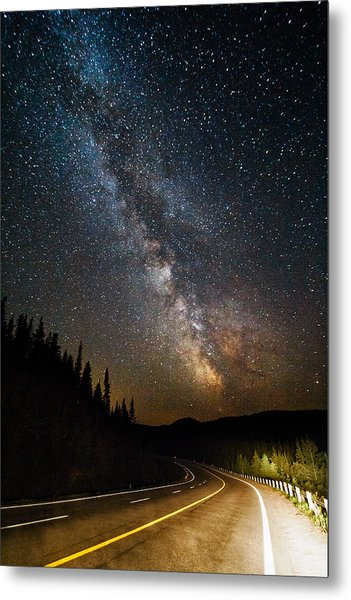 Cosmic Highway Metal Print