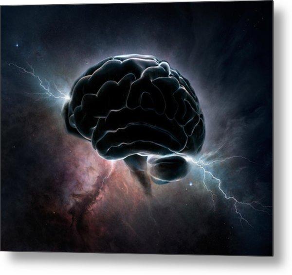 Cosmic Intelligence Metal Print