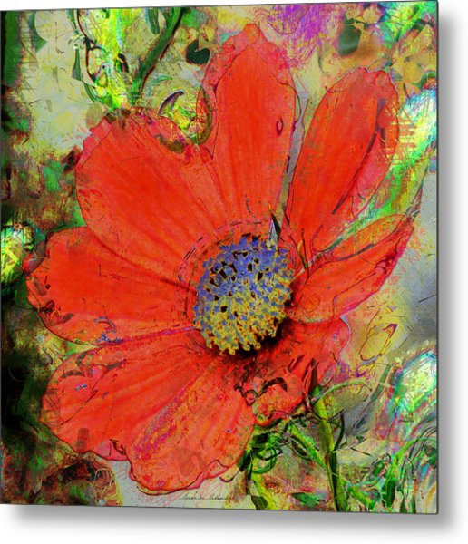 Cosmos Flower No. 1 Metal Print