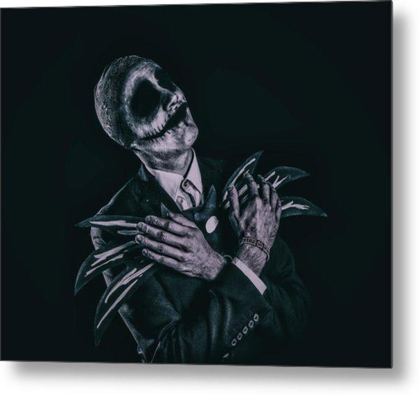 Cosplay - Jack Skellington Metal Print