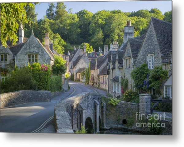 Metal Print featuring the photograph Cotswold Village by Brian Jannsen