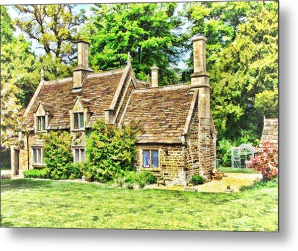 cottage at Bowood-01 Metal Print