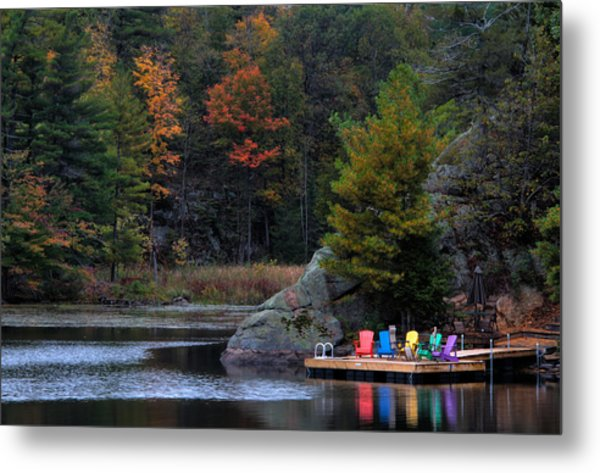Cottage Country Metal Print