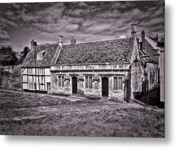 Cottages Devizes -1 Metal Print