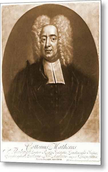 Cotton Mather 1728 Metal Print by Padre Art