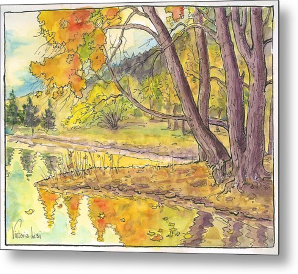 Cottonwood Cove Metal Print