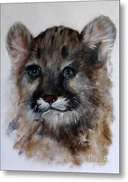 Antares - Cougar Cub Metal Print
