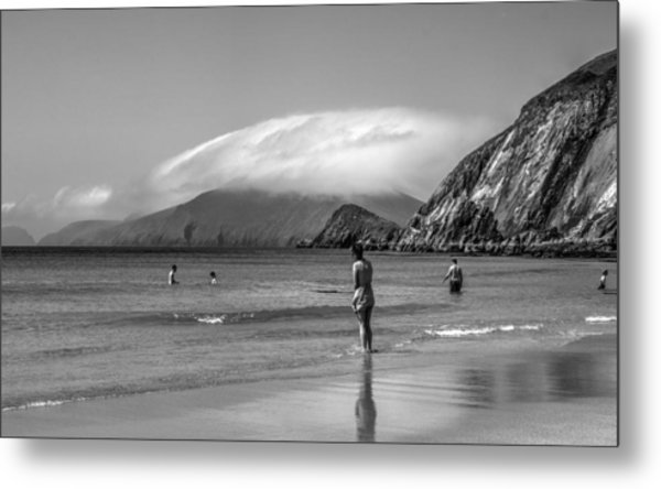 Coumeenole Throwback Metal Print