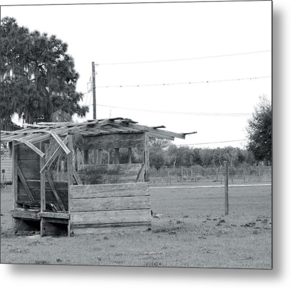 Country Blues Metal Print by Santiago Rodriguez