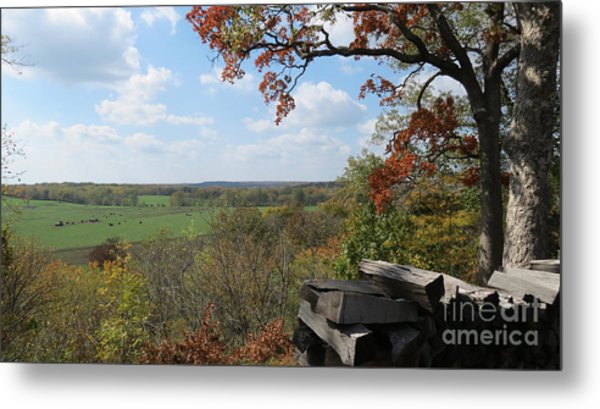 Country Life All Profits Go To Hospice Of The Calumet Area Metal Print
