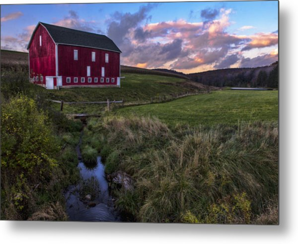 Country Life Metal Print by James Black