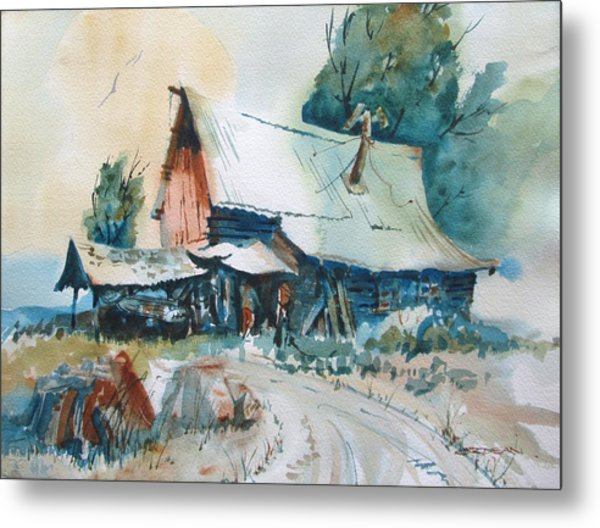 Country Livin' Metal Print