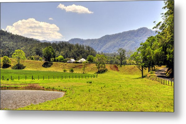 Country Living Metal Print by Terry Everson
