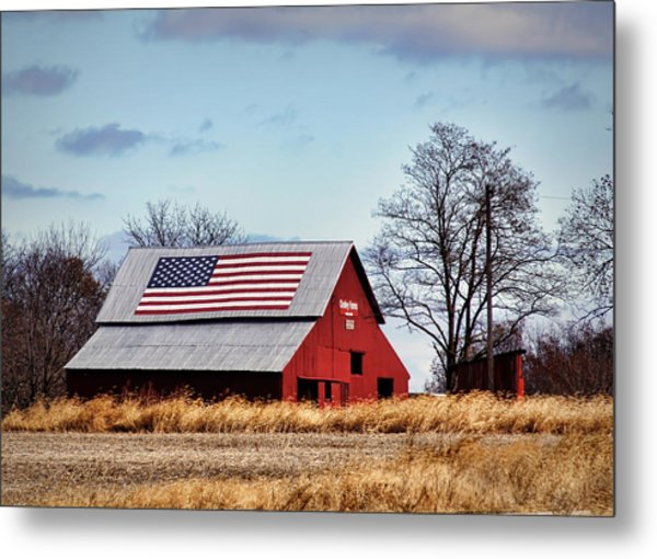 Country Pride Metal Print