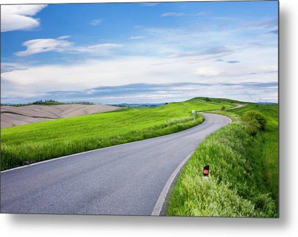 Country Road Metal Print by Jorg Greuel