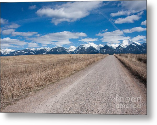 Metal Print featuring the photograph Country Road Take Me Home by Katie LaSalle-Lowery