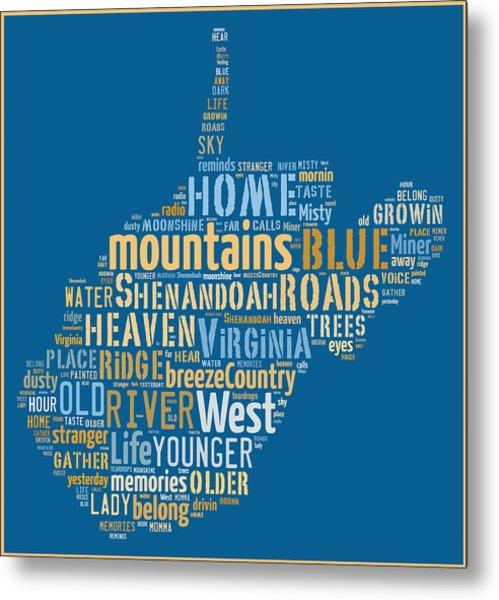 Country Roads 3 Metal Print