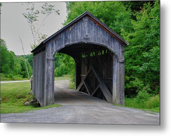 Country Store Bridge 5656 Metal Print