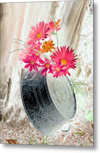 Country Summer - Photopower 1499 Metal Print