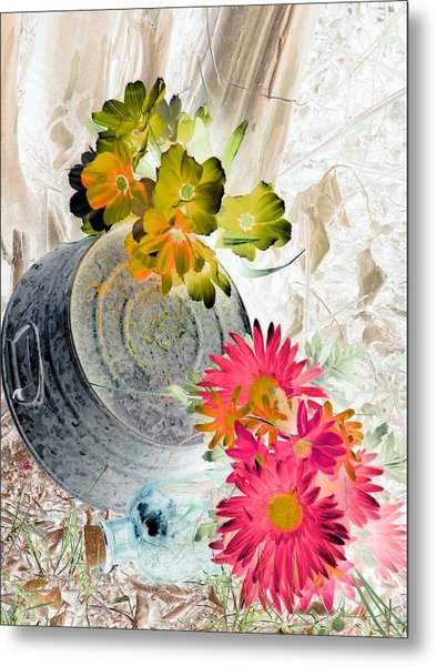 Country Summer - Photopower 1509 Metal Print