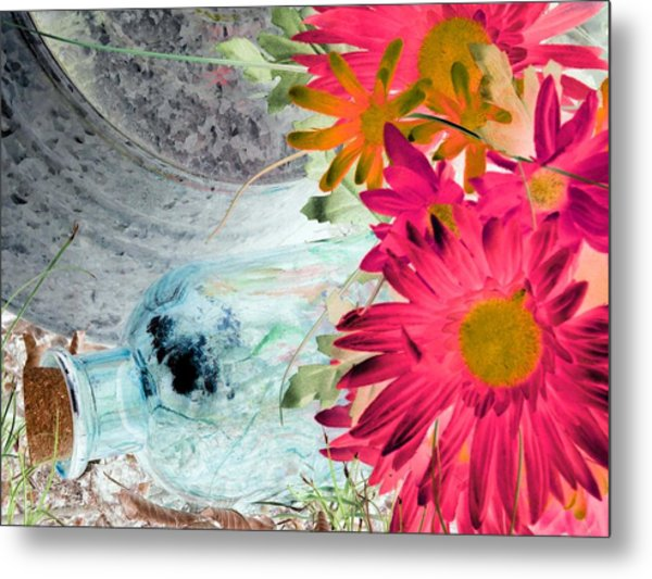 Country Summer - Photopower 1510 Metal Print