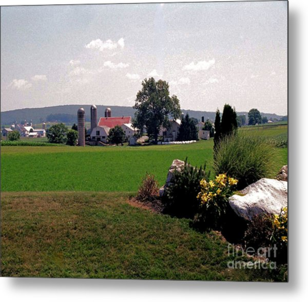 Country Views Metal Print by Timothy Clinch