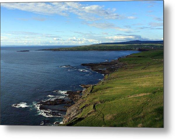 County Clare Coast Metal Print
