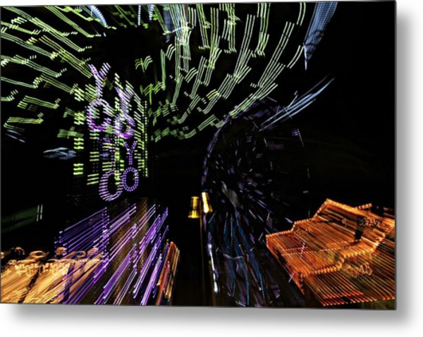 County Fair Abstract Metal Print