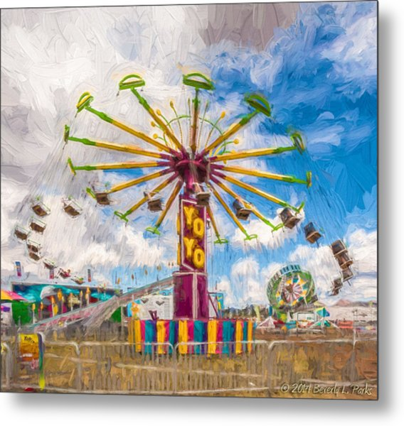 County Fair Metal Print