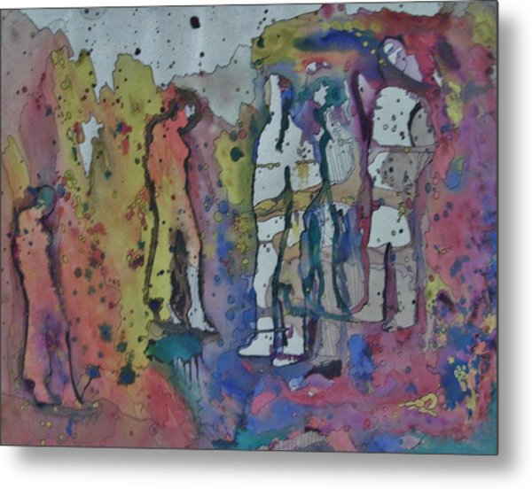 Couples Metal Print by Mark Greenhalgh