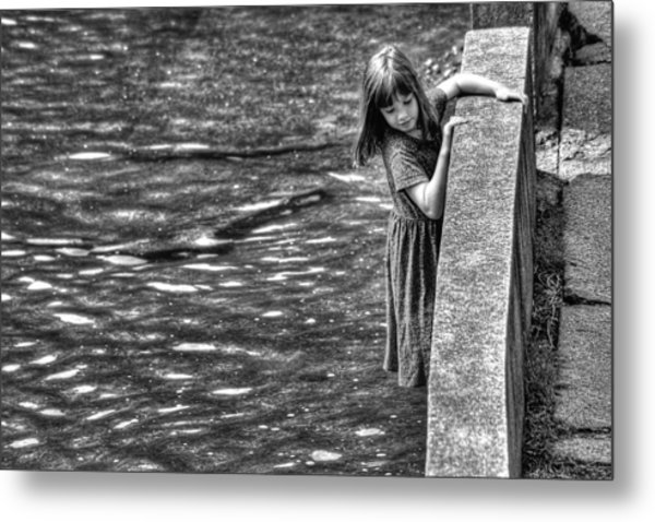 Courageous Child Metal Print