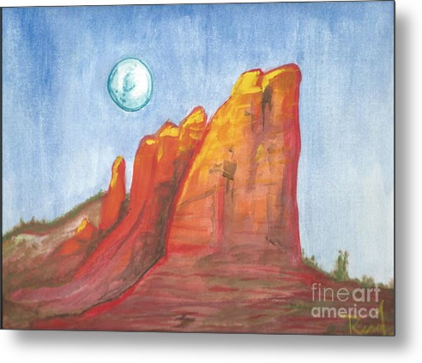 Court House Butte  Metal Print