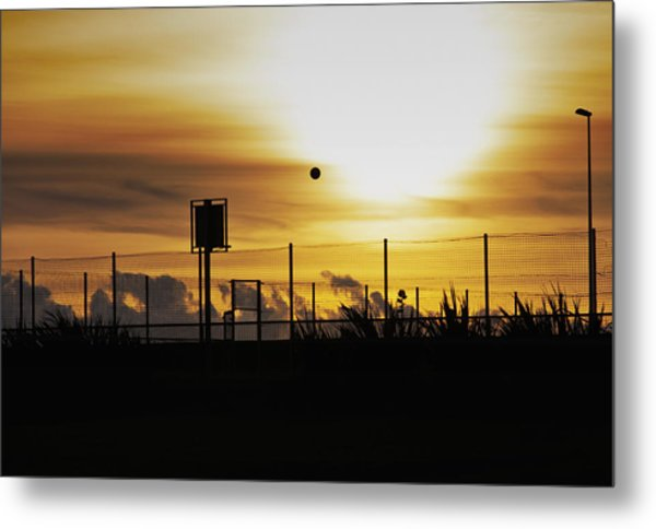 Court Side Metal Print