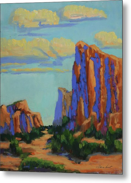 Courthouse Rock In Sedona Metal Print