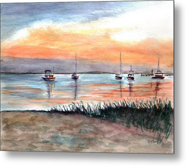 Cove Sunrise Metal Print