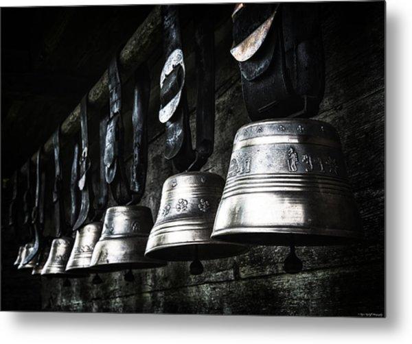 Cowbells Metal Print