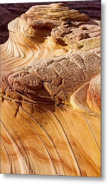 Coyote Buttes Pattern In Nature Metal Print