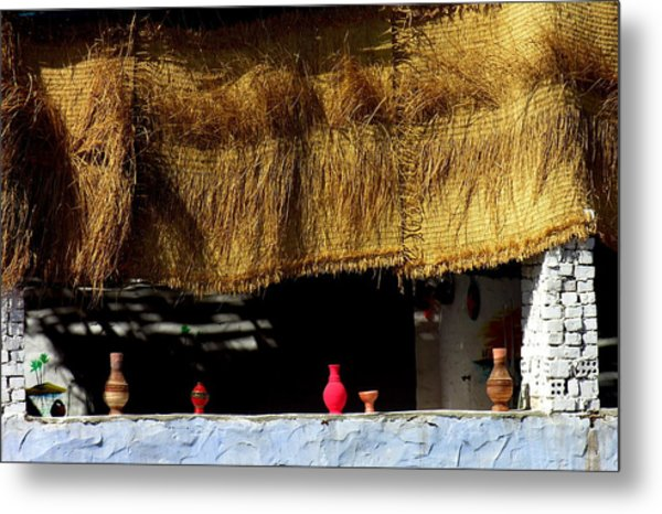 Crafts In Nubia Egypt Metal Print by Jacqueline M Lewis