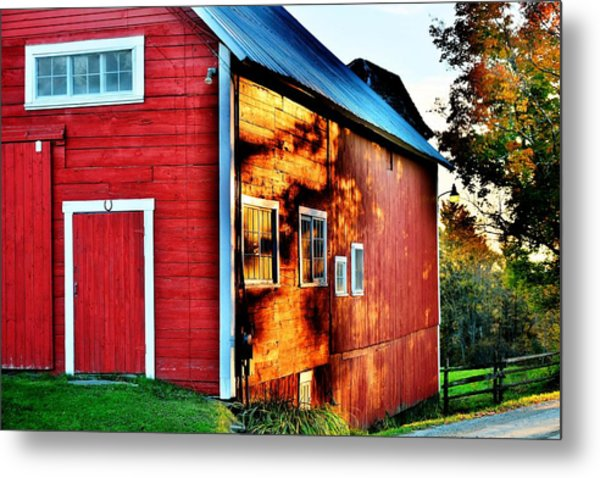 Craftsbury Sunset Metal Print