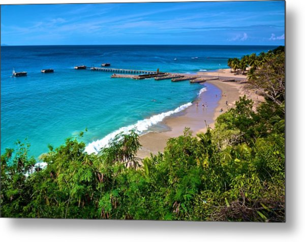 Crash Boat Beach 1 Metal Print