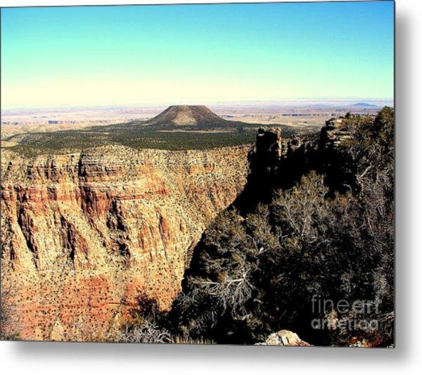 Crater At Grand Canyon Metal Print by John Potts