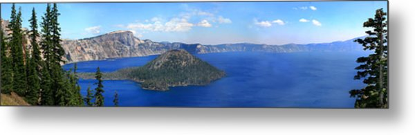 Crater Lake Metal Print by Melisa Meyers