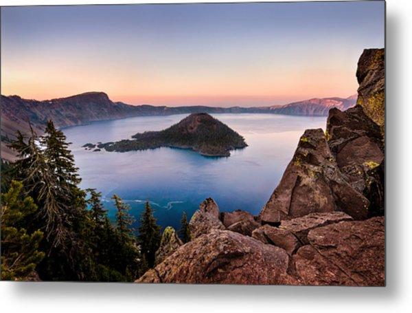 Crater Lake National Park Metal Print